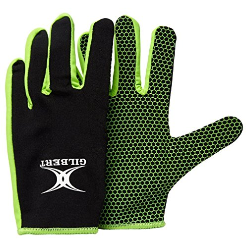 Gilbert Atomic Gloves - Black/Green, X-Large from Gilbert