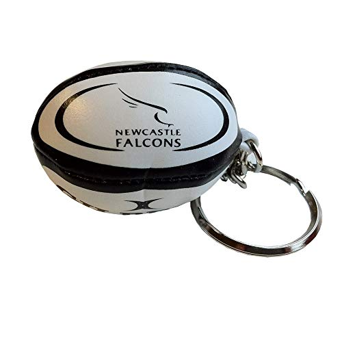 Gilbert Newcastle Falcons English Premiership Rugby Ball Keyring from Gilbert