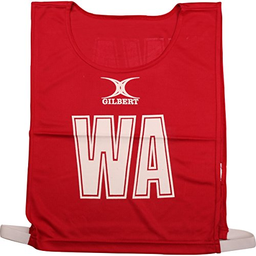 Gilbert Women's Monochrome Bibs, Red, Large from Gilbert