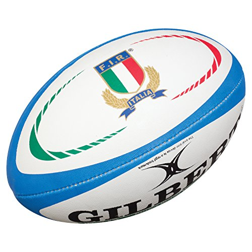 Gilbert Unisex Italy Replica Ball, Multi-Colour, Size 5 from Gilbert