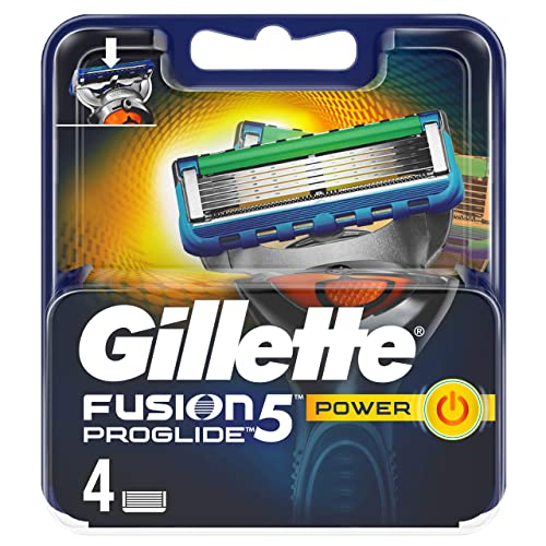 Gillette Fusion5 ProGlide Power Razor Blades for Men, 4 Refills from Gillette