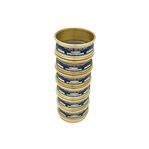"Gilson Performer V3CF #80 Brass/Stainless Steel Sieve, 80, 3"" Diameter, Full Height from GILSON"