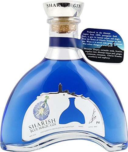 Sharish Blue Magic Gin, 500 ml from Sharish