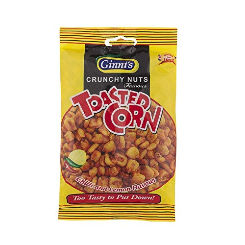 Ginni's Toasted Corn Chilli & Lemon Flavour 2 x 130g from Ginni's