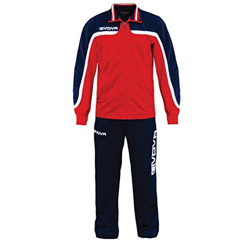 Givova, suit europa, red/blue, XS from Givova