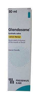 Glandosane Synthetic Saliva Spray - Natural Flavour - Pack of 2 from Glandosane