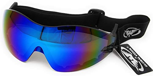 Global Vision Shatterproof Goggles For Skydiving/Freefall and Parachuting Complete With FREE Microfibre Storage Pouch from Global Vision
