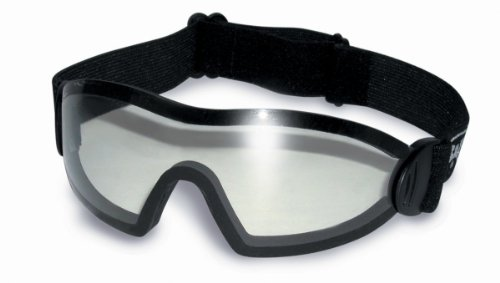 Shatterproof UV400 Clear Freefall Skydiving And Parachuting Goggles Complete With Free Pouch from Global Vision