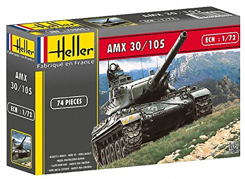 Heller 79899 1:72 Scale AMX 30/105 Model from Heller