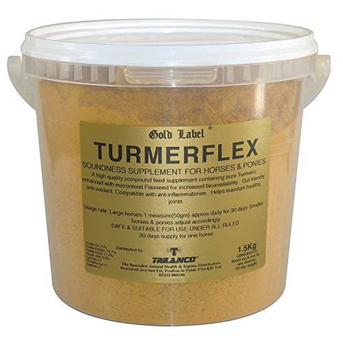 Gold Label Turmerflex Horse Joint Supplement x Size: 3 Kg from Gold Label