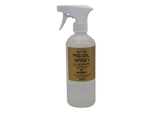 Gold Label Unisex's GLD1375 Pig Oil Spray, Clear, Regular from Gold Label