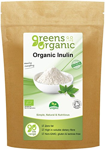 Greens Organic- Organic Inulin - Vegan 250g (Pack of 6) from GOLDEN GREENS ORGANIC