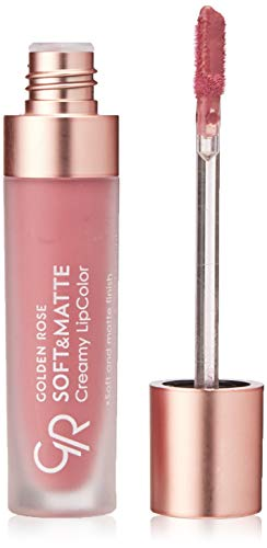 Soft & Matte Creamy Lipcolor LIQUID CREAMY LIPSTICK GOLDEN ROSE (110) from Golden Rose