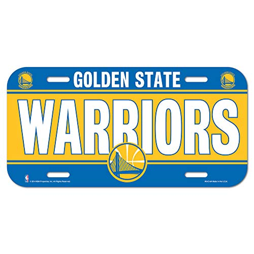 Officially Licensed NBA Golden State Warriors Sign Board 15x30 cm from Golden State Warriors