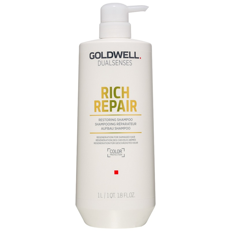Goldwell Dualsenses Rich Repair Restoring Shampoo for Dry and Damaged Hair 1000 ml from Goldwell