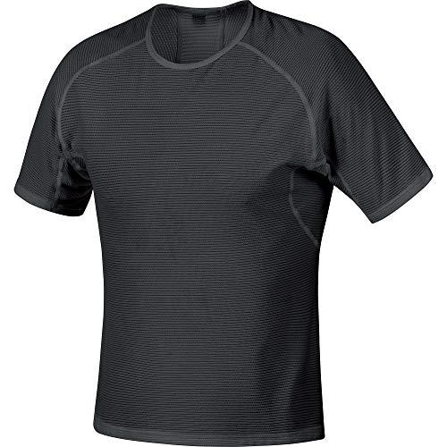 GORE WEAR M Men Short Sleeved Undershirt, L, Black from GORE WEAR