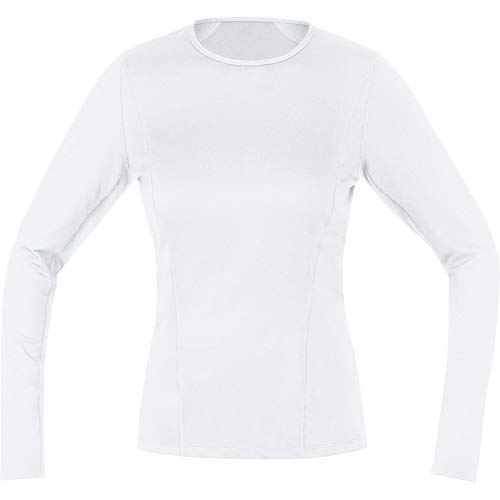GORE WEAR Women M Base Layer Long Sleeve Shirt white 40 100015 from GORE WEAR