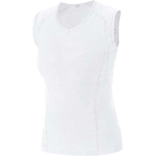 GORE WEAR Women M Base Layer Sleeveless Shirt white 38 100017 from GORE WEAR
