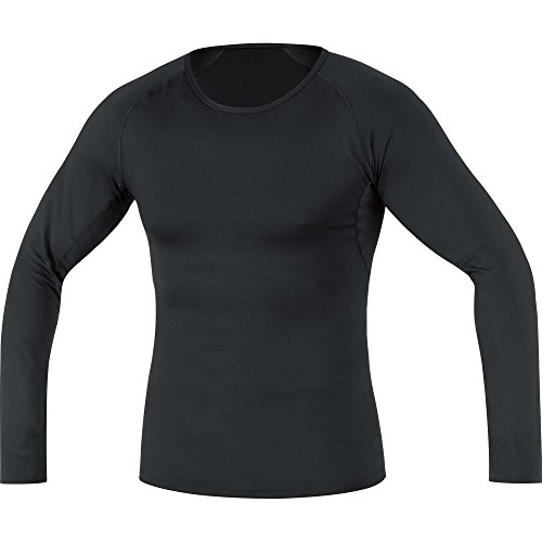 Gore Wear Men's Breathable Base Layer Thermo Long Sleeve Shirt - Black, Large from GORE WEAR