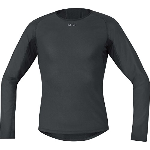 Gore Wear Men's Windstopper Base Layer Thermal Long Sleeve Shirt - Black, Large from GORE WEAR