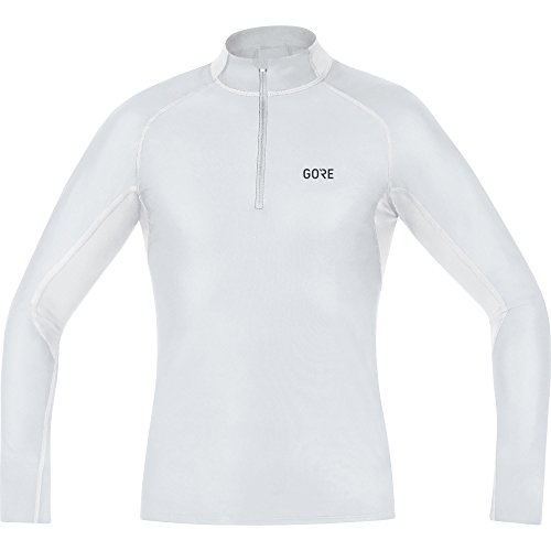 Gore Wear Men's Windstopper Base Layer Thermo Turtleneck Shirt - Light Grey/White, X-Large from GORE WEAR