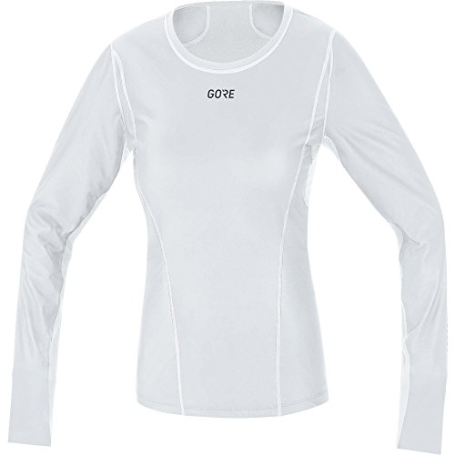 Gore Wear Women's Windstopper Base Layer Thermal Long Sleeve Shirt - Light Grey/White, Size: 42 from GORE WEAR