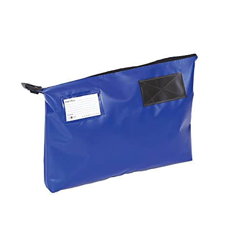 GoSecure VAL06854 470 x 336 x 76 mm GP2B Mail Pouch - Blue from Gosecure