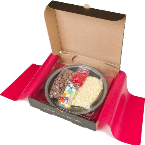 Gourmet Chocolate Pizza Make Your Own Pizza Kit 7'' Kids Summer Activity from Gourmet Chocolate Pizza Co