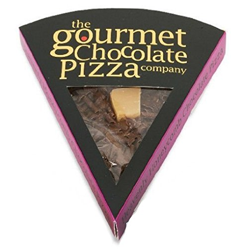 Gourmet Chocolate Pizza Slices Indiviually Wrapped (Heavenley Honeycomb) from Gourmet Chocolate Pizza Co