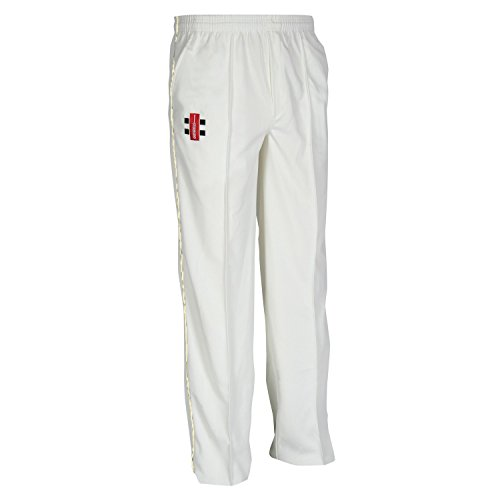 Gray-Nicolls Kids' Matrix Trousers, Ivory, 11-12 Years from Gray-Nicolls