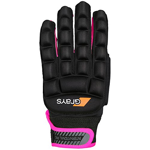 GLOVE INT PRO BK/NEON PK LH 2XS from Grays