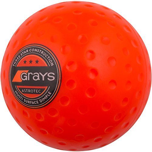 GRAYS Unisex's Astrotec Hockey Ball, Orange, One Size from GRAYS