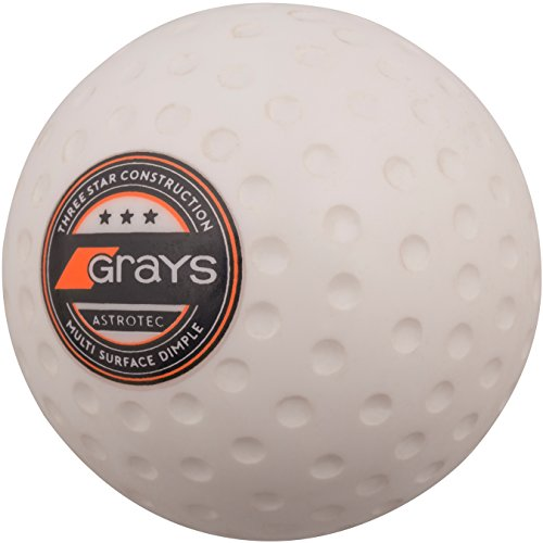 GRAYS Unisex's Astrotec Hockey Ball, White, One Size from GRAYS
