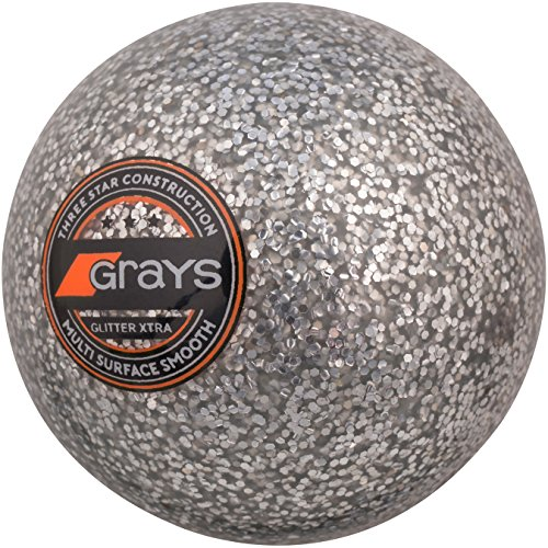 GRAYS Unisex's Glitter Xtra Ball, Silver, 5.5 oz from GRAYS