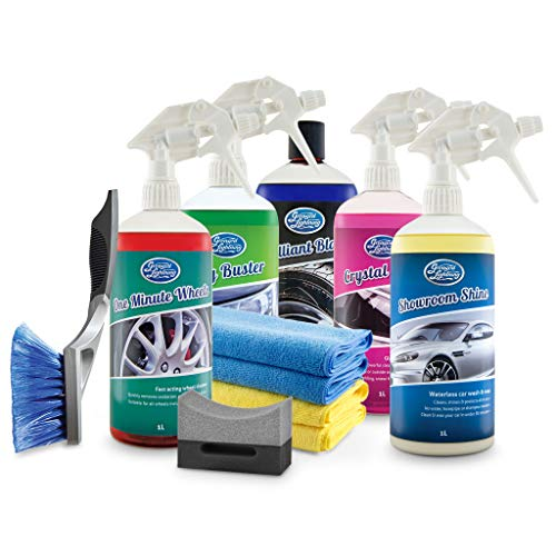 Greased Lightning Showroom Shine 1 Ltr Ultimate Car Cleaning Pack & Accessories from Greased Lightning