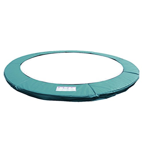 Greenbay 10FT Replacement Trampoline Surround Pad Foam Safety Guard Spring Cover Padding Pads Green from Green Bay