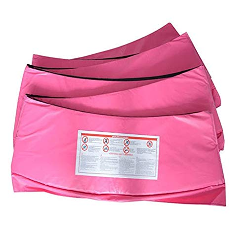 Greenbay 10FT Replacement Trampoline Surround Pad Foam Safety Guard Spring Cover Padding Pads Pink from Green Bay