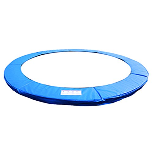 Greenbay 10FT Replacement Trampoline Pad Foam Safety Guard Spring Cover Padding Blue(Thickness:15 mm) from Green Bay