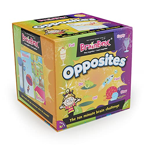 Green Board Games GRE91028 BrainBox Opposites, Card Game from Green Board Games
