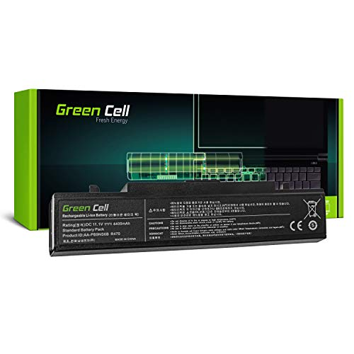 Green Cell® Standard Series Battery for Samsung 350E 350V 355E 355V NP350E5C NP350E7C NP350V5C NP355E5C NP355E7C NP355V5C Laptop (6 Cells 4400mAh 11.1V Black) from Green Cell PRO
