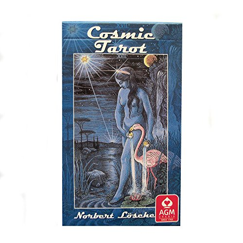 Cosmic Tarot by Norbert Losche, 78 Cards Deck with English Instructions from Green Cross Toad