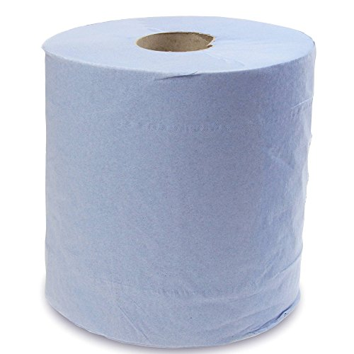 Centre Feed Rolls Blue - Pack of 6   Paper Towel, Hand Towel from Green Max
