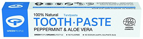 Mint Toothpaste (50ml) - x 3 Pack Savers Deal by Green People from Green People