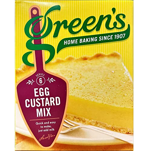 Green's Egg Custard Filling Mix (54g) - Pack of 6 from Green's