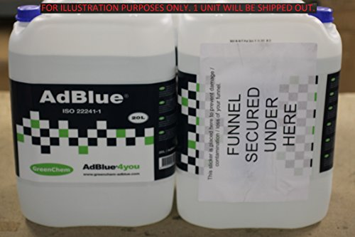 Greenchem AdBlue4you 60-02-00010 AdBlue 20L from Greenchem AdBlue4you