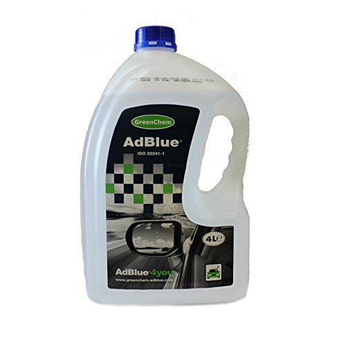 GreenChem AdBlue 4 Litres Fuel Additive For Diesel Engines Add Blue 4L from GreenChem