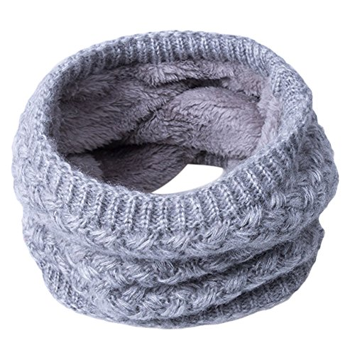 Greenlans Women Man Fashion Soft Thermal Woolen Yarn Collar Winter Circle Neck Scarf from Greenlans