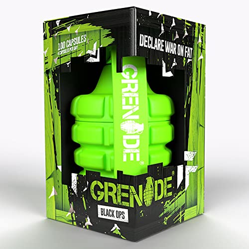 Grenade Black Ops Weight Management Capsules, 100 caps from Grenade