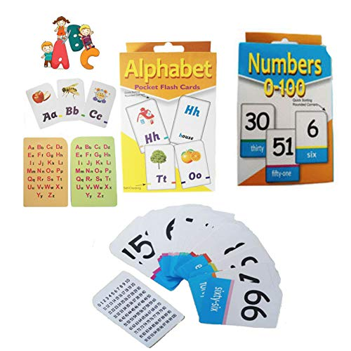 Grids London Alphabet Flash Cards Kid's A-Z Learning Playing Children School Activity Set from Grids London