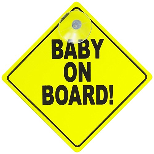 Gripfast Baby On Board Sign from GripFast